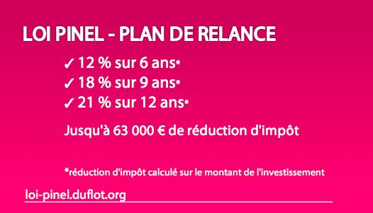 Loi Pinel - Plan de Relance